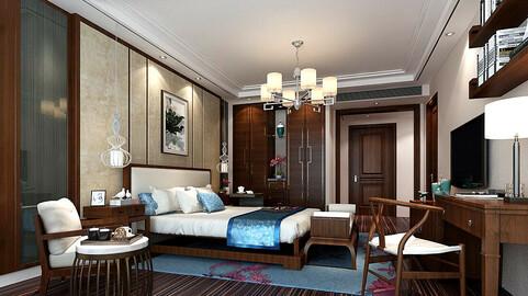 Deluxe master bedroom design  173