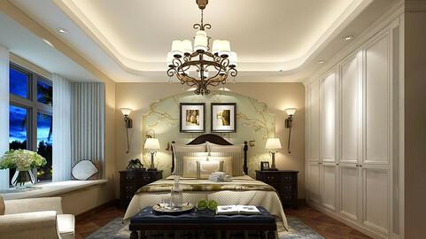 Deluxe master bedroom design  175