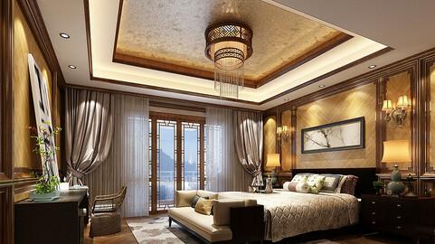 Deluxe master bedroom design  177