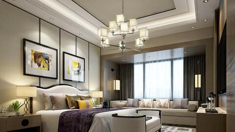 Deluxe master bedroom design  181