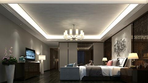 Deluxe master bedroom design  183
