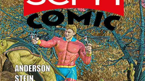 Read and Colour: Sci-Fi Comic - Hi Res eBook/Print Files