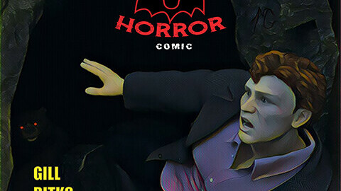 Read and Colour: Horror Comic - High Res ebook/Print files