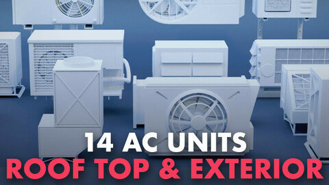 15 AC Units For Roof top & Exterior