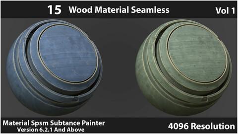 Wood Material Seamless