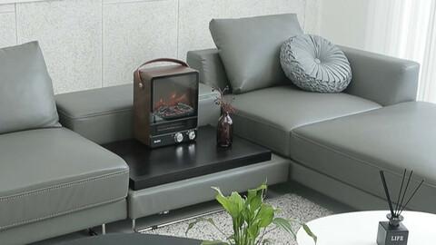 Pruna Fireplace Heater JSK-20045