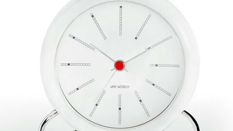 aj bankers table clock