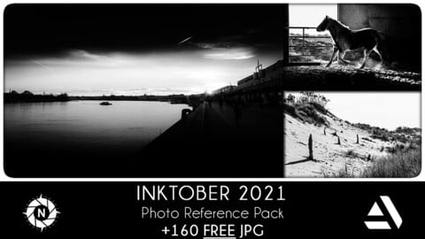 FREE - Photo Reference Pack: Inktober 2021