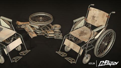 Old Hospital Wheelchair