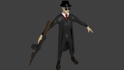 Mafia Gangster Modelo 3D