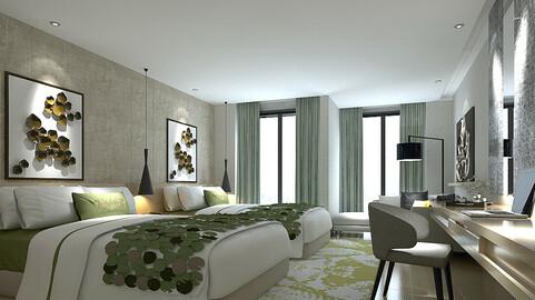 bedroom hotel suites designed a complete 20