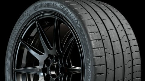 Continental Sport Contact 7 (Real World Details) 305 30 R20
