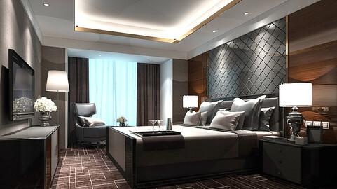 Stylish bedroom complete 28