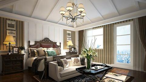 Stylish bedroom complete 34