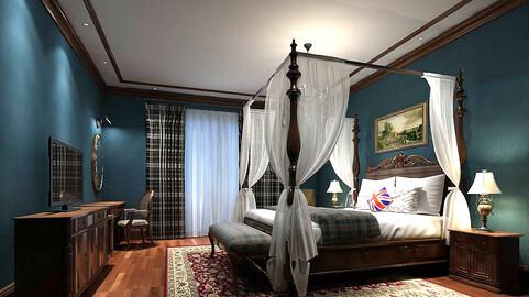 Stylish bedroom complete 36