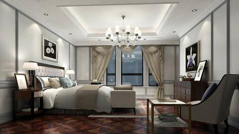Stylish bedroom complete 37