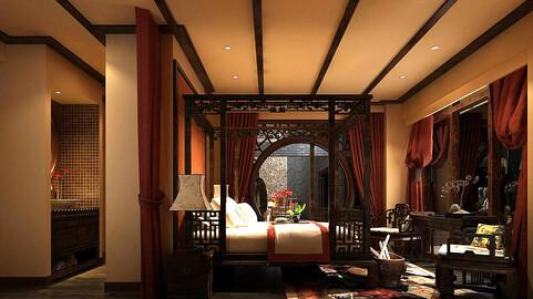 Stylish bedroom complete 86