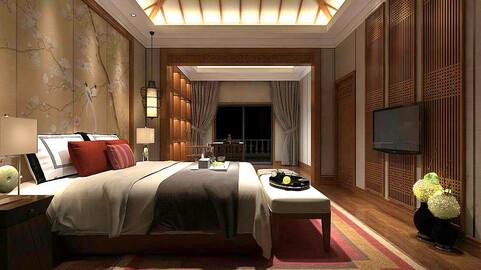 Stylish bedroom complete 87