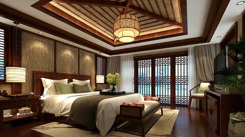 Stylish bedroom complete 90