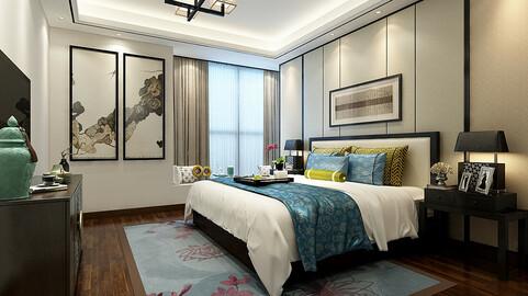 Stylish bedroom complete 92