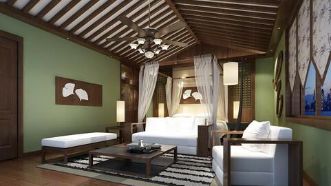Stylish bedroom complete 93