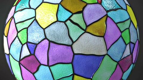 Stained Glass Material