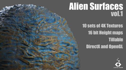 Alien Surfaces Collection Vol. 1