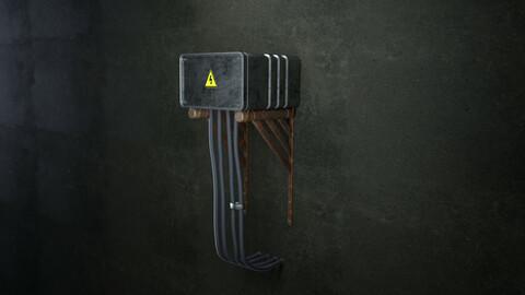 Sci-Fi Electric Box