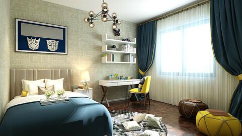Stylish bedroom complete 209