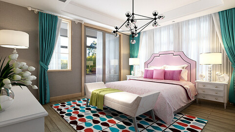 Stylish bedroom complete 217