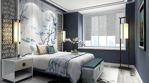 Stylish master bedroom design  03