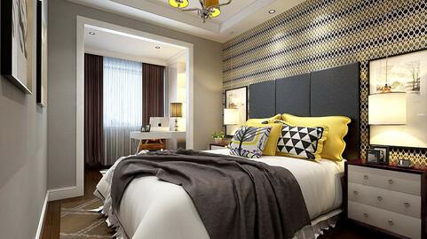 Stylish master bedroom design  07