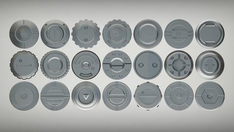 Sci-fi bolts - MEGA PACK