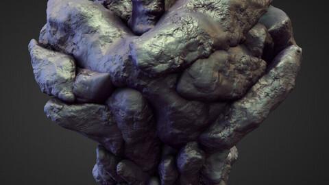TORSO14 high poly sculpt