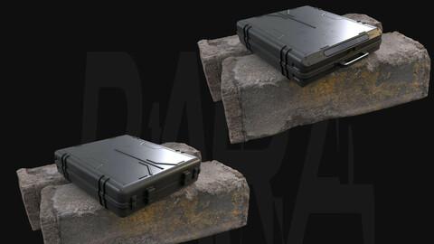 Crate N°2 - Gameready 3D Model
