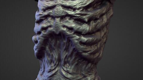 TORSO18 high poly sculpt