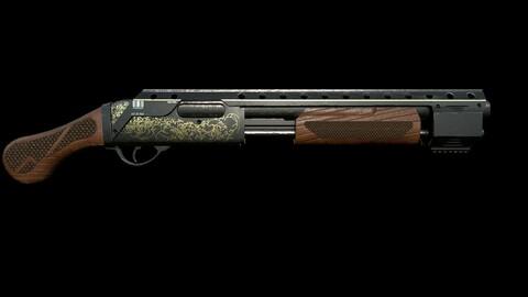12 Gauge Vintage Shotgun