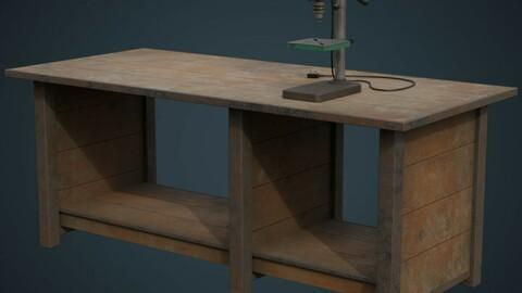 Drill Press And Workbench 1B