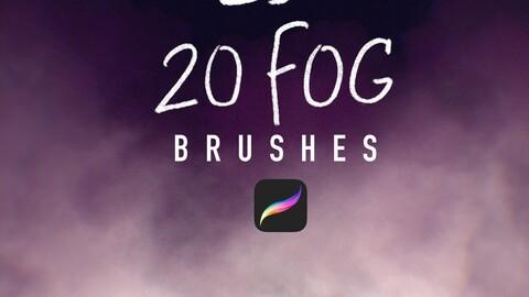 20 Fog Brushes