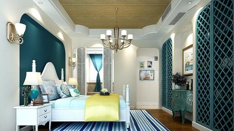 Stylish master bedroom design  44