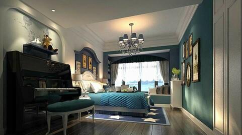 Stylish master bedroom design  45