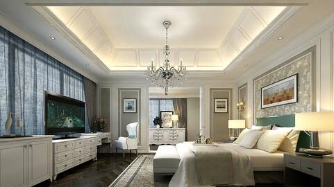 Stylish master bedroom design  49