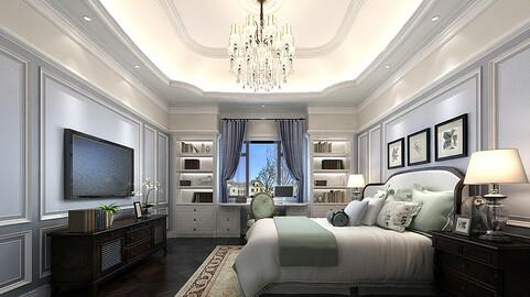 Stylish master bedroom design  50