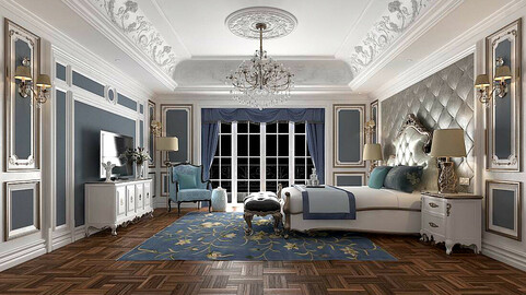 Stylish master bedroom design  52