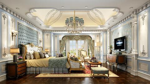 Stylish master bedroom design  53