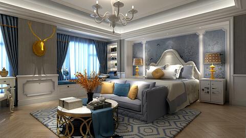 Stylish master bedroom design  54