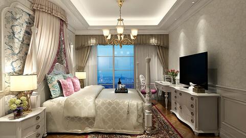 Stylish master bedroom design  56