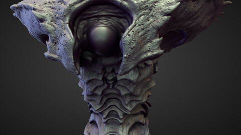 TORSO19 high poly sculpt