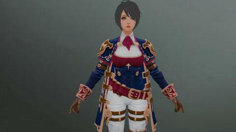 Commander woman character