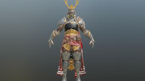 iron armored ninja warrior